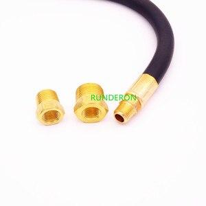 Image 5 - Automotive Engine Oil Pressure Gauge Detection Diagnostic Tools 0 7 bar / 0 100 PSI