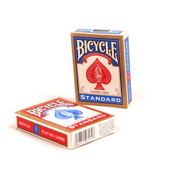 Free shipping! Bycicle playing cards (Red and Blue), 2pcs/lot,card magic,magic tricksFree shipping! Bycicle playing cards (Red and Blue), 2pcs/lot,card magic,magic tricks