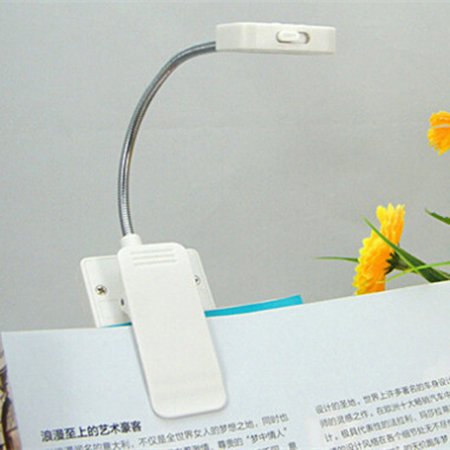 Mini Solar USB LED  Book Reading Light  Multi-use 0.18W Rechargeable Book Light For LED Cpmputer Table Lamp