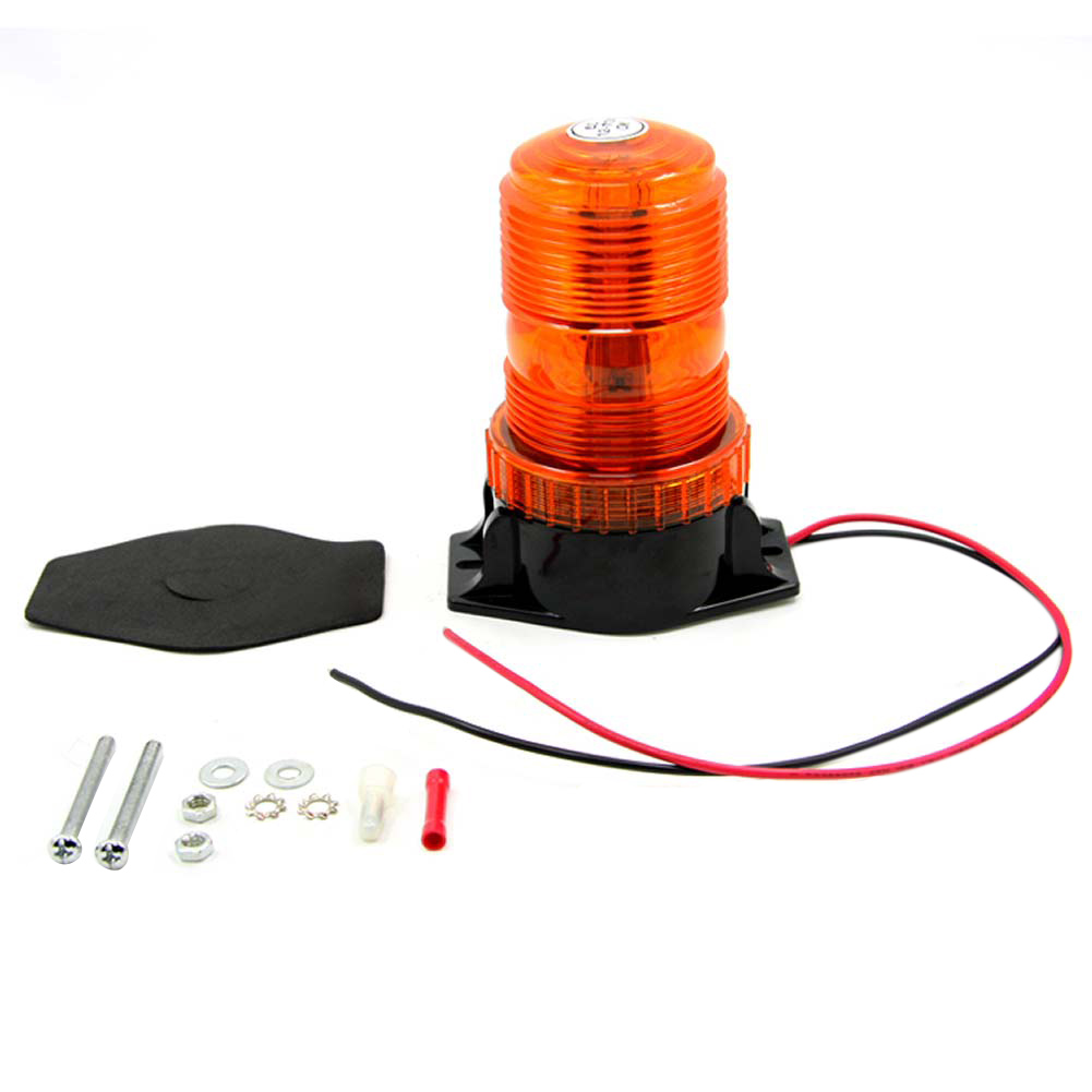 New DC12V-110V Led Mini Strobe Beacon Amber Single Flash Warning Light Emergency Car Truck External Light car styling 4x 4 led car flash truck emergency beacon light bar hazard strobe warning amber white blue red