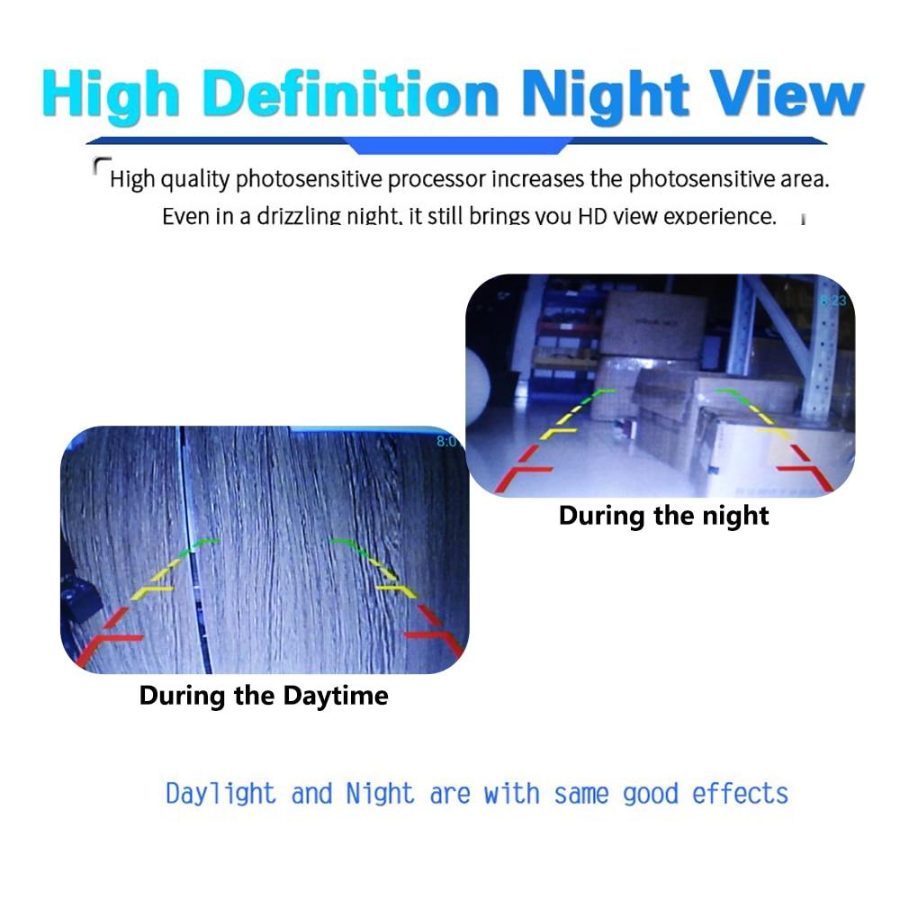 BYNCG WG12 светодиодов Водонепроницаемый 12 светодиодов ночного видения автомобиля камера заднего вида CCD камера заднего вида для авто парковки монитор