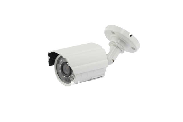 Original 700tvl CCTV Outdoor Security Weatherproof Camera wide surveillancing with White Mental Case free shipping