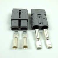2 pièces prise de connexion rapide 175A 600V batterie connecteur rapide prise treuil connecteur gris/bleu/rouge pour Max 1AWG fil