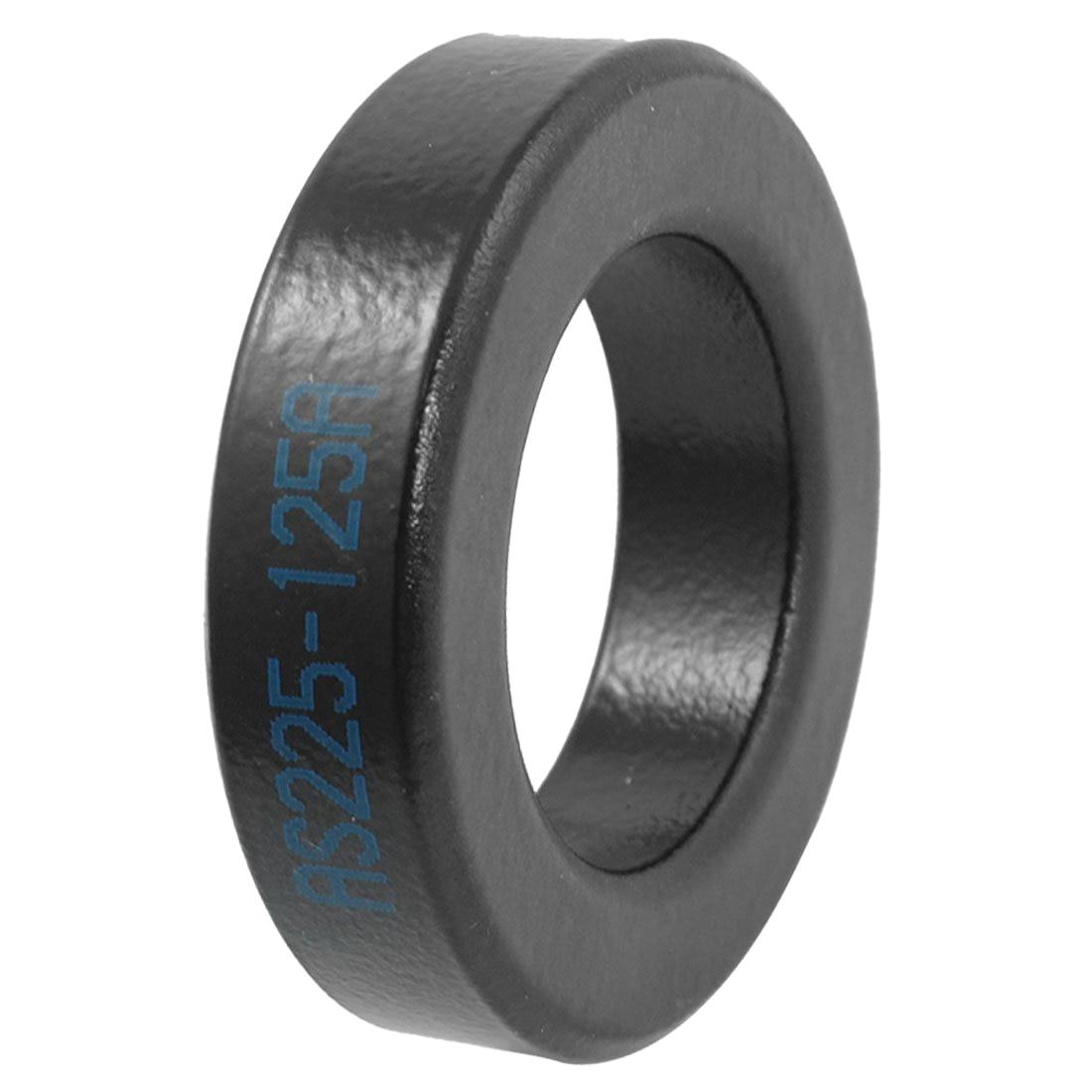 AS225-125A ferrite rings, toroidal cores in black iron for electrical inductors toroidal transformer 32mm inner diameter ferrite core as200 125a black