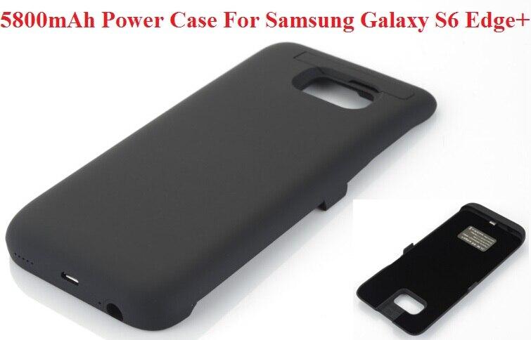 imágenes para 5800 mAh Portátil Batería de Reserva Externa Recargable Cargador Power Bank Para Samsung Galaxy S6 Edge Plus G9280 Cubierta de Shell