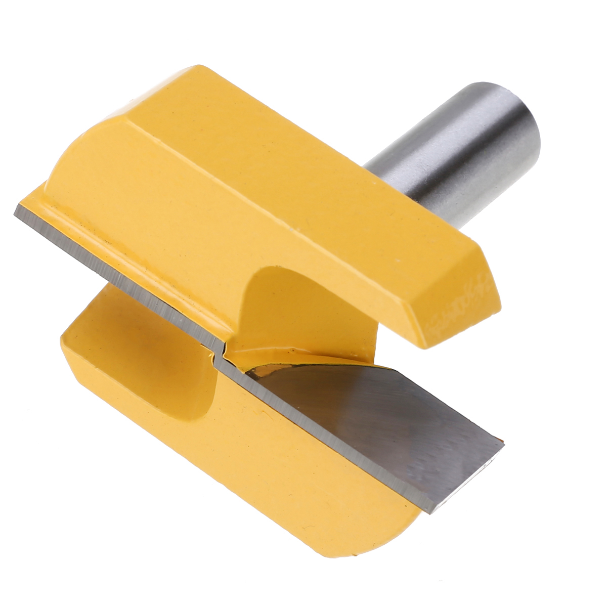 """Mayitr Carbide Alloy 1/2"""" Shank 2-1/4"""" Dia Bottom Cleaning Router Bit Woodworking Milling Cutter Machine Tools & Accessories"""
