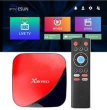 X88 PRO TV BOX Android 9.0 4GB 64GB French IPTV Belgium SUNATV Arabic Dutch Support Android m3u enigma2 Albania Italy Germany(China)