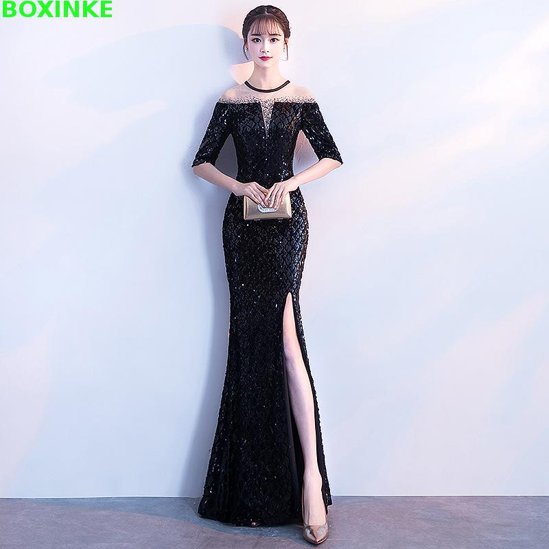 Dress Women Time limited Mesh Polyester Lanon Regular 2018 New Style Banquet Noble Elegant Long Sexy