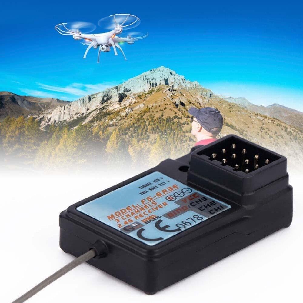 Водонепроницаемый 3 канала 2,4 г Частота тока 5 В приемник для FlySky Quad вертолет