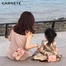 CARNETE 2019 New Women Bag Fashion Wallet Evening Lady Parent-Child Handbag Messenger Mini