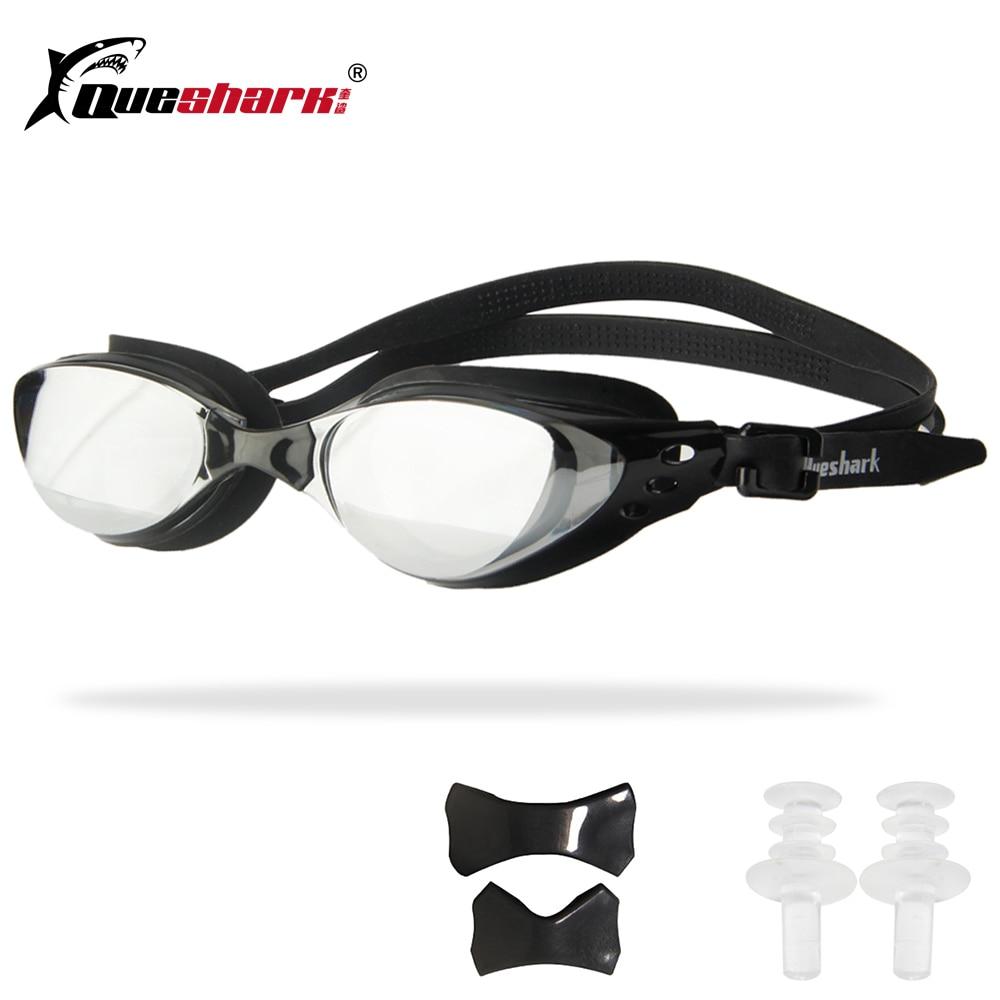 ceb99b9b60ac7 Homens Mulheres Swim Óculos Anti Nevoeiro óculos de Natação Óculos de Proteção  UV Galvaniza Profissional Óculos de Natação À Prova D  Água