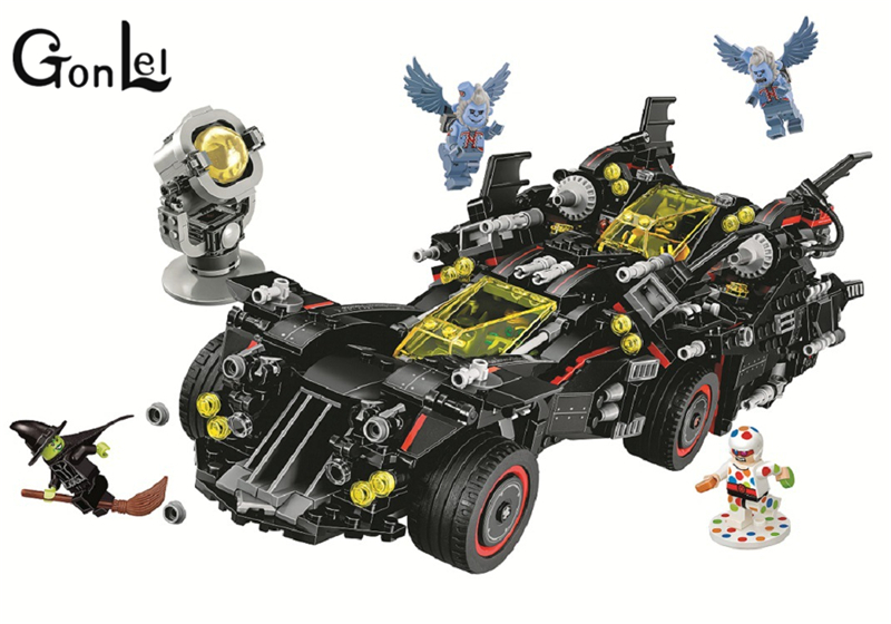 10740 Batman Movies Series The Ultimate Batmobile Building Blocks Car Model Educational Brick Toys Compatible With 70917 sony sony xperia z3 dual аквамарин 32гб 2 sim 4g lte 3g