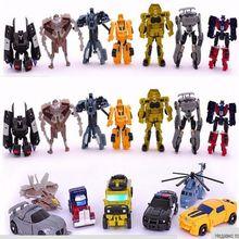 Meng Badi 1pcs lot Transformation Toys Mini font b Robots b font font b Car b