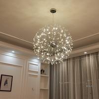 Современная отрасль k9 хрустальный шар хром G4 светодиодный Подвесная лампа светильник norbic дома деко столовая железный подвесной светильник