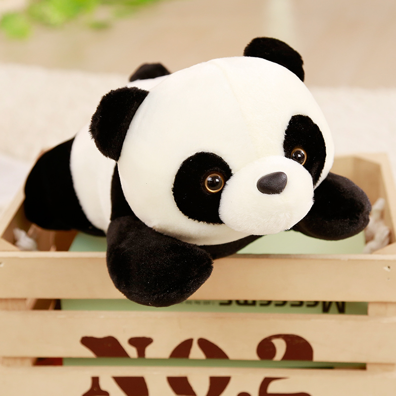 1pc 30cm Cute Papa Panda Doll Soft Plush Toys Gift For Children Stuffed Anilmal Doll Kids Toys