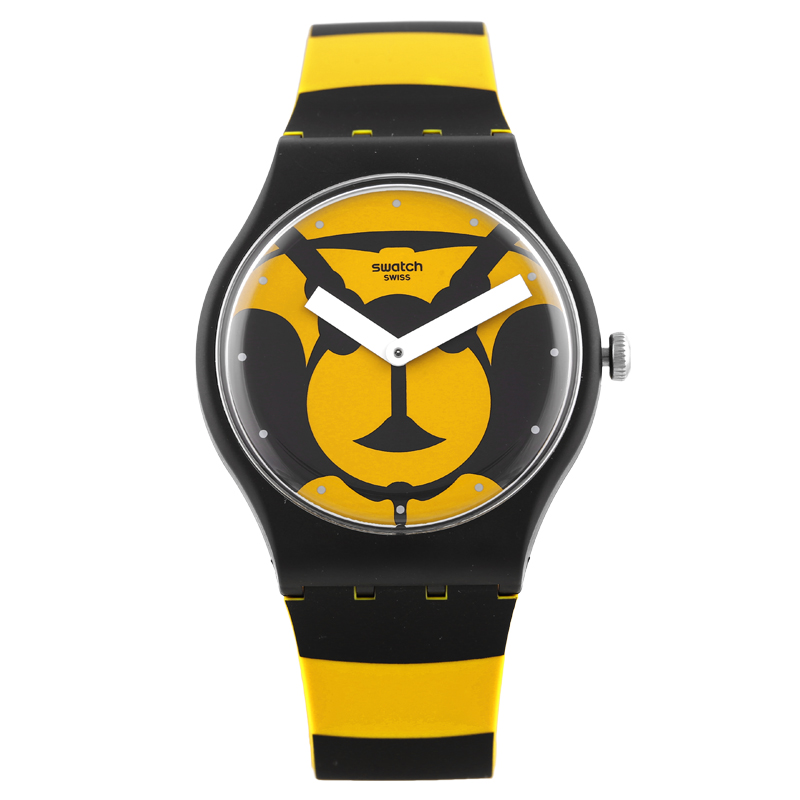 Swatch Watch Original Colorful Series Tide Cool Printed Quartz Watch SUOB149 swatch original colorful quartz watch suob135