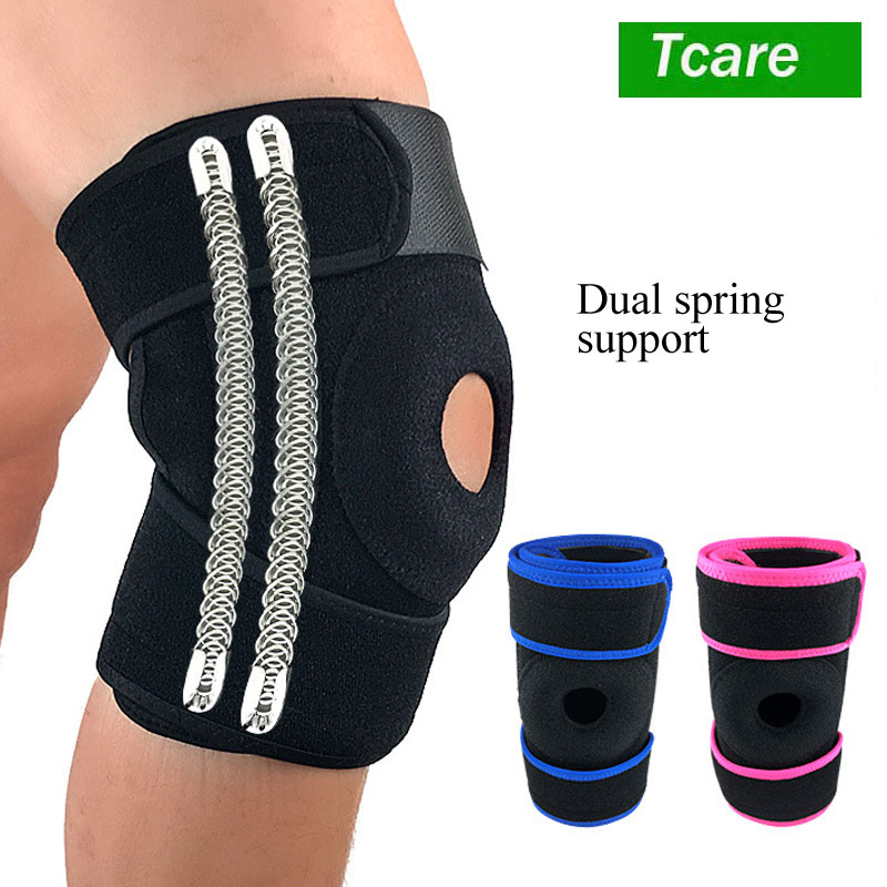 Tcare 1Pcs Knee Brace Support Sleeve For Arthritis,ACL,Running,Basketball,Meniscus Tear,Sports,Athletic.Open Patella Protector 1pair health care knee brace support therapy compression sleeves for arthritis meniscus tear acl pain relief injury recovery