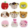 Factory Wholesale Kawaii 10CM Cartoon Mix HAND Coin Purse Wallet Pouch Case BAG Women Lady Bags Pouch Beauty Holder BAG Handbag