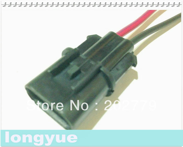 longyue 10pcs 2 pin male waterproof connector with cable automotive rh aliexpress com Automotive Wiring Connectors Supplies 8 Wire Electrical Connector