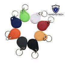13.56 mhz MIFARE Classic 1 K RFID Tag ABS ISO 14443A sleutelhanger Voor Hotel Lock Key (pak van 10)