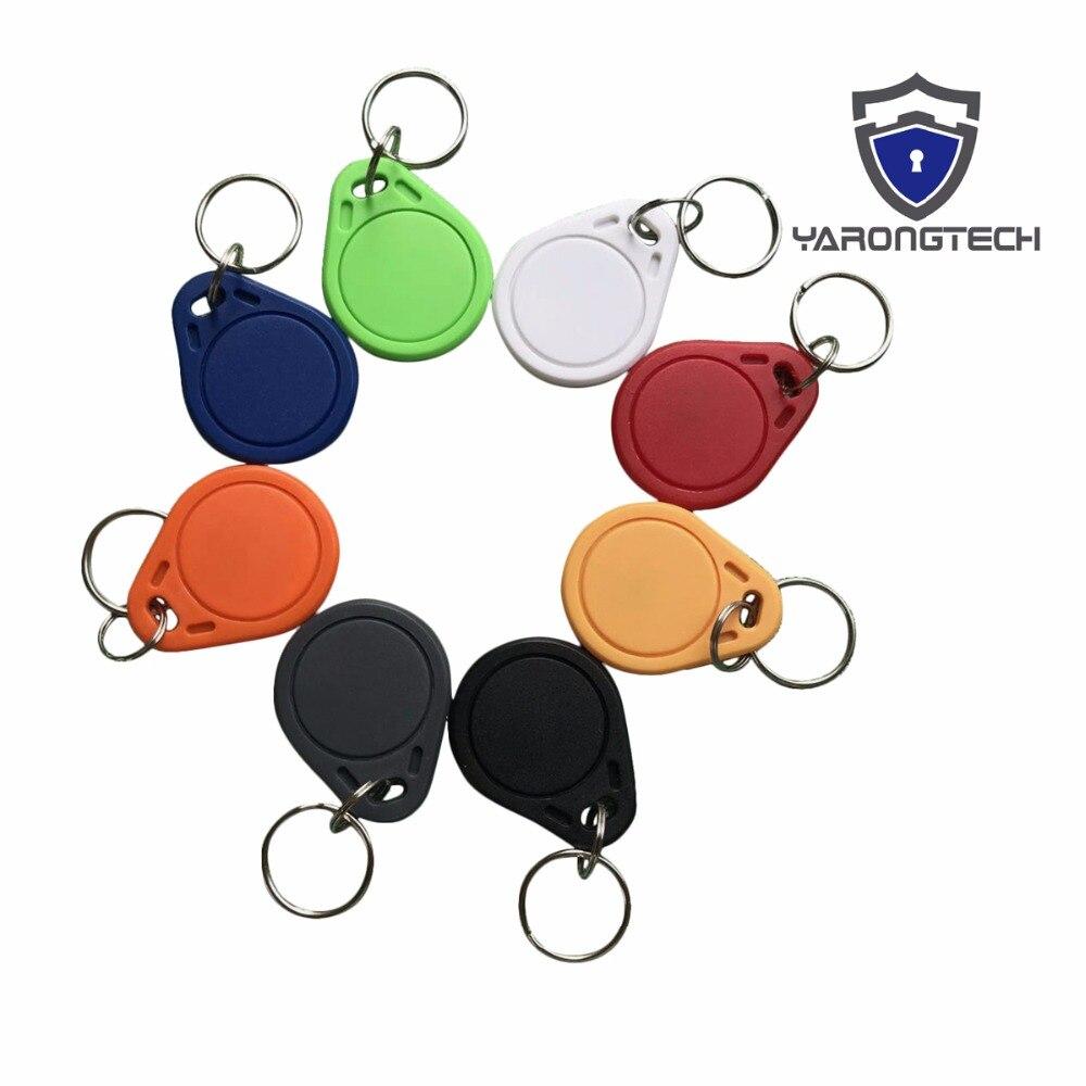13,56 mhz MIFARE Classic 1 karat RFID Tag ABS ISO 14443A Key fob Für Hotel Schloss Schlüssel (pack von 10)