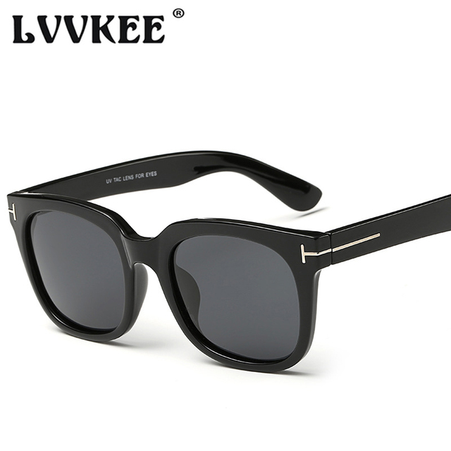 5fb564f7a9 LVVKEE 2018 High Quality Fashion Polarized Sunglasses Men Brand Designer TF  Sun glasses For Women UV400