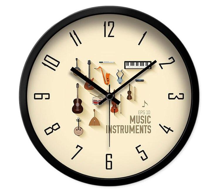 Online Get Cheap Musical Instrument Clock Aliexpresscom