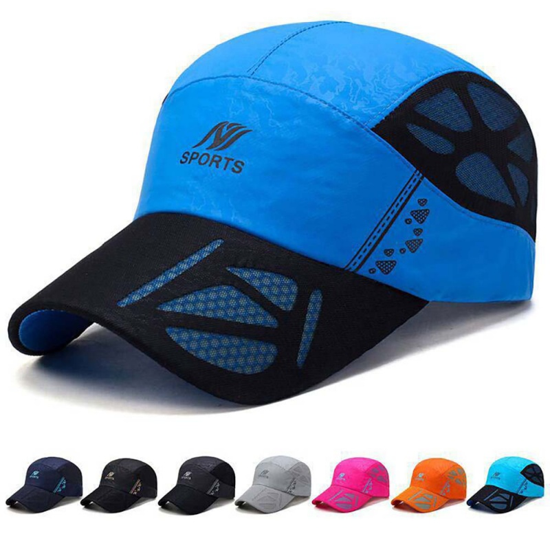 Unisex Running Hats Summer Outdoor Sport Hat Running Visor Cap Hot Popular Sport Caps