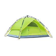 Outdoor Quick Automatic Opening Tent 3-4 Person Windproof Waterproof Rain Double Opening Tent For Hiking Camping Equipment