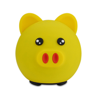 Golden Pig Mini Bluetooth Speaker With Radio TF Card Subwoofer Bluetooth Box Surround Sound System Wireless Speaker for Mobile