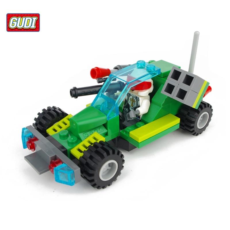 Earth Border Fantasy Series Blocks Toy Compatible with Car Blocks Educational DIY Spaceship Children Blocks Christmas