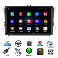 9 Android 9.1 Car Multimedia Player for Volkswagen Skoda Golf Polo Tiguan Passa MK5 MK6 Jetta Touran Seat Car Autoradio GPS
