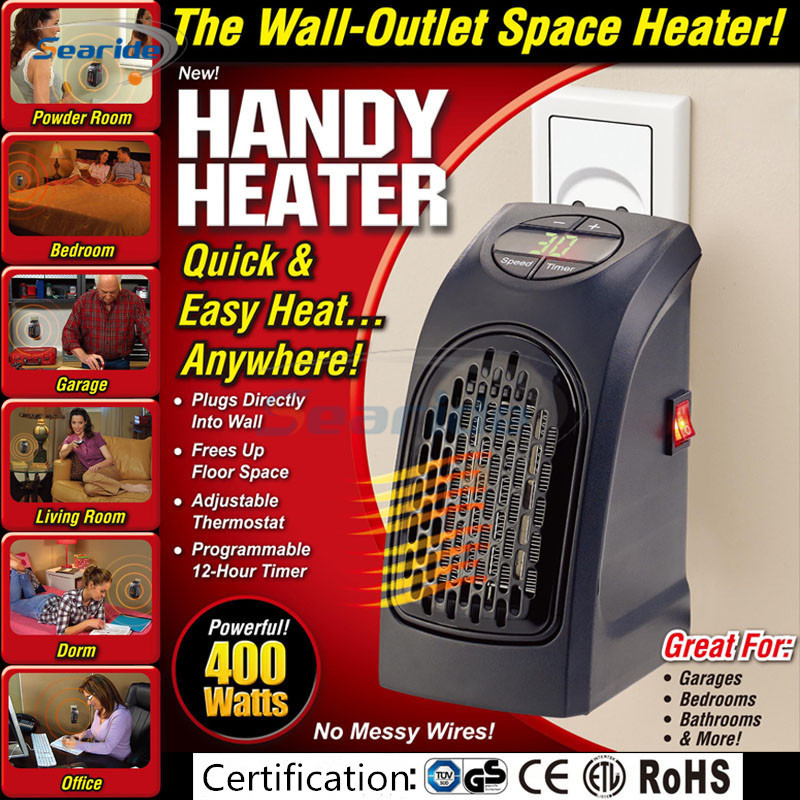 Mini Portable Handy Heater Wall Outlet A
