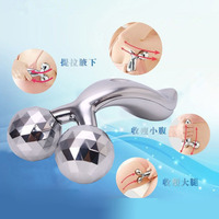 Manufacturers Selling 3 D Facial Massager Roller Type Manual Thin Face Cosmetic Instrument V Face Thin