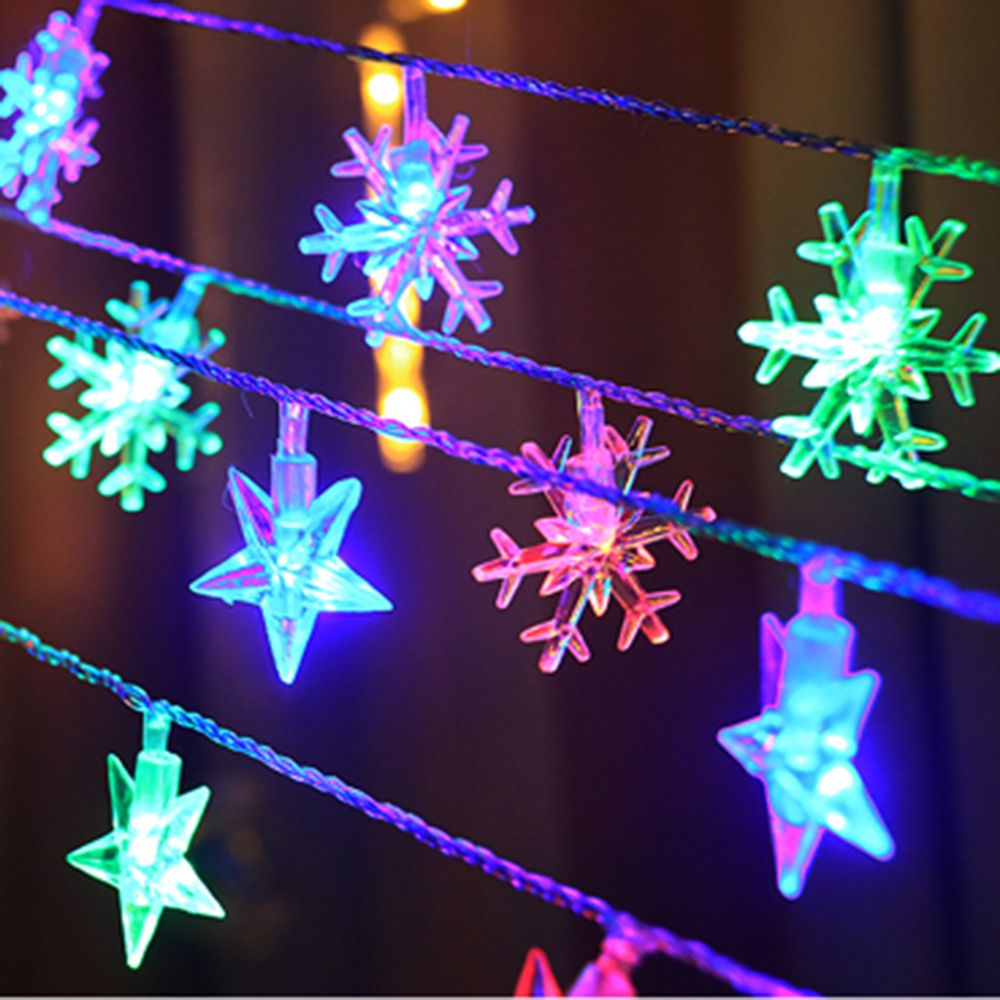 Led Holiday Lighting Star Bell String