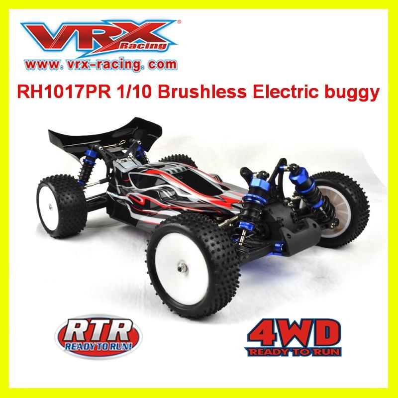 VRX Racing RH1017PR 1 10 brushless Electric off road rc car RTR 60A ESC 3650 motor
