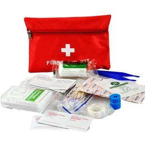 14 предметов/набор, портативная водонепроницаемая аптечка для скорой медицинской помощи на открытом воздухе для семьи или путешествий