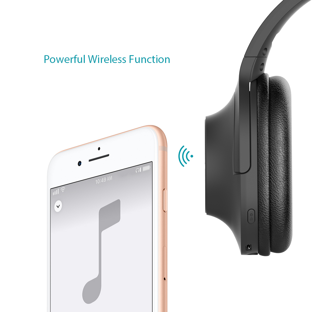 dodocool Bluetooth Wired Wireless Headphone 2 in 1 Foldable Headset ...