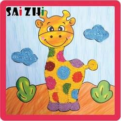 Saizhi детский сад веревка паста живопись творческий DIY ручной работы ремесла игрушка для детей SZ3610