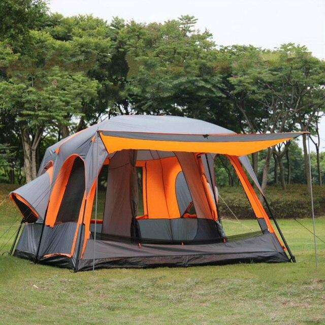 Zaktualizowano Luksusowy Namiot Ultralarge Jeden Hall Dwie Sypialnie 6 8 10 12 KJ89