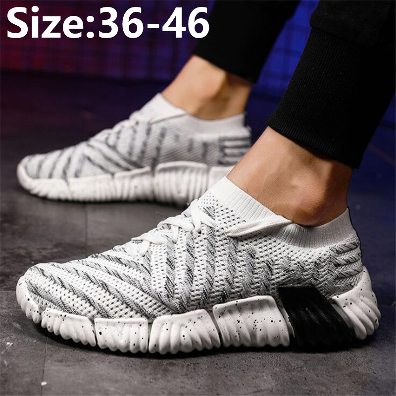 Men's new versatile mesh thick soled breathable casual and