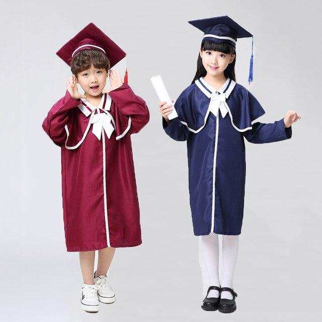 Toddler Boys Doctor Cosplay Costumes Graduation Bachelor Children ...
