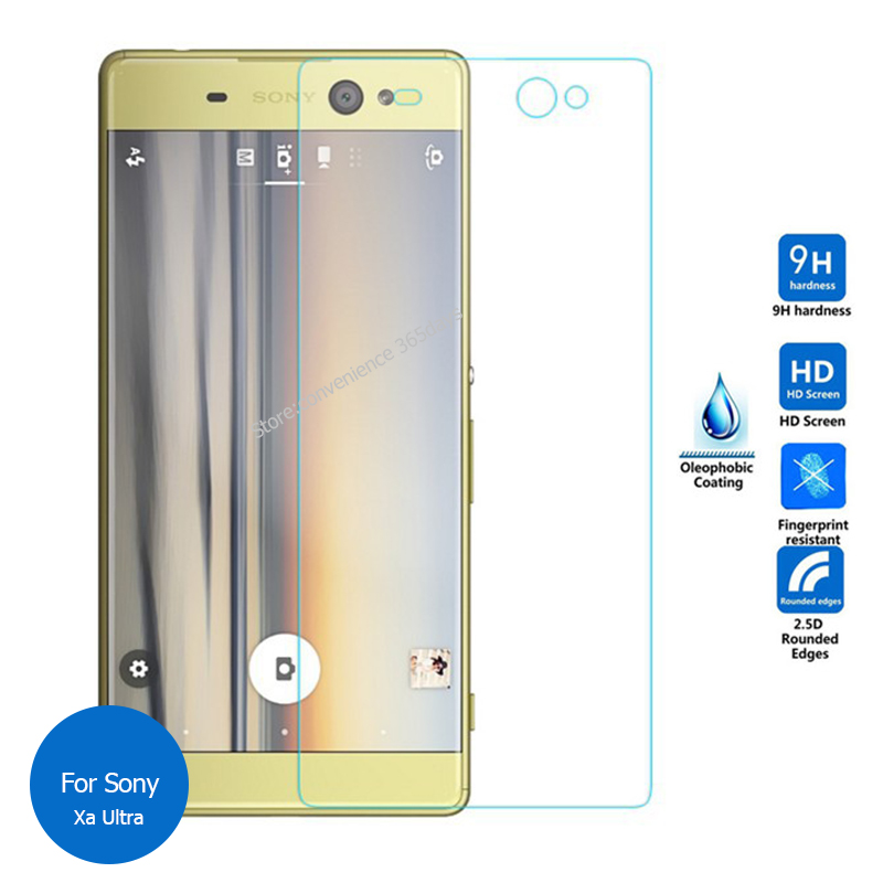 2PCS For Sony Xperia Xa Ultra Tempered Glass Screen Protector 9h Safety Protective Film On XaUltra F3211 F3212 F3213 F 3211 3212