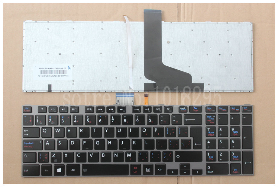 new Toshiba P855 P855D P850 P850D P870 P870D P875 P875D backlit keyboard