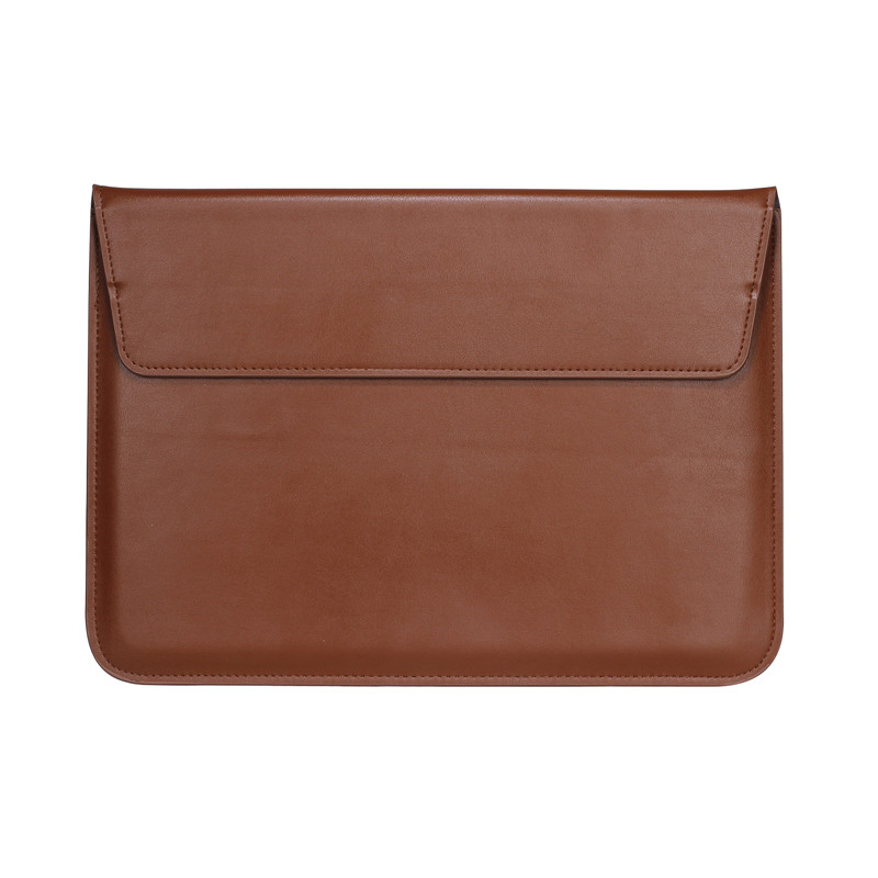 PU Leather Stand Cover Case For MacBook Air Pro Retina 11 12 13 15 inch Sleeve Laptop Bags & Cases