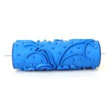 5-дюймовый DIY украшения стены Empaistic живопись ролик(синий