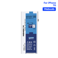 NOHON Battery Rechargeable Phone Lithium Li ion Bateria For High Quality 3.82V 1960mAh iPhone 7 7G iPhone7 Batteries Free Tools