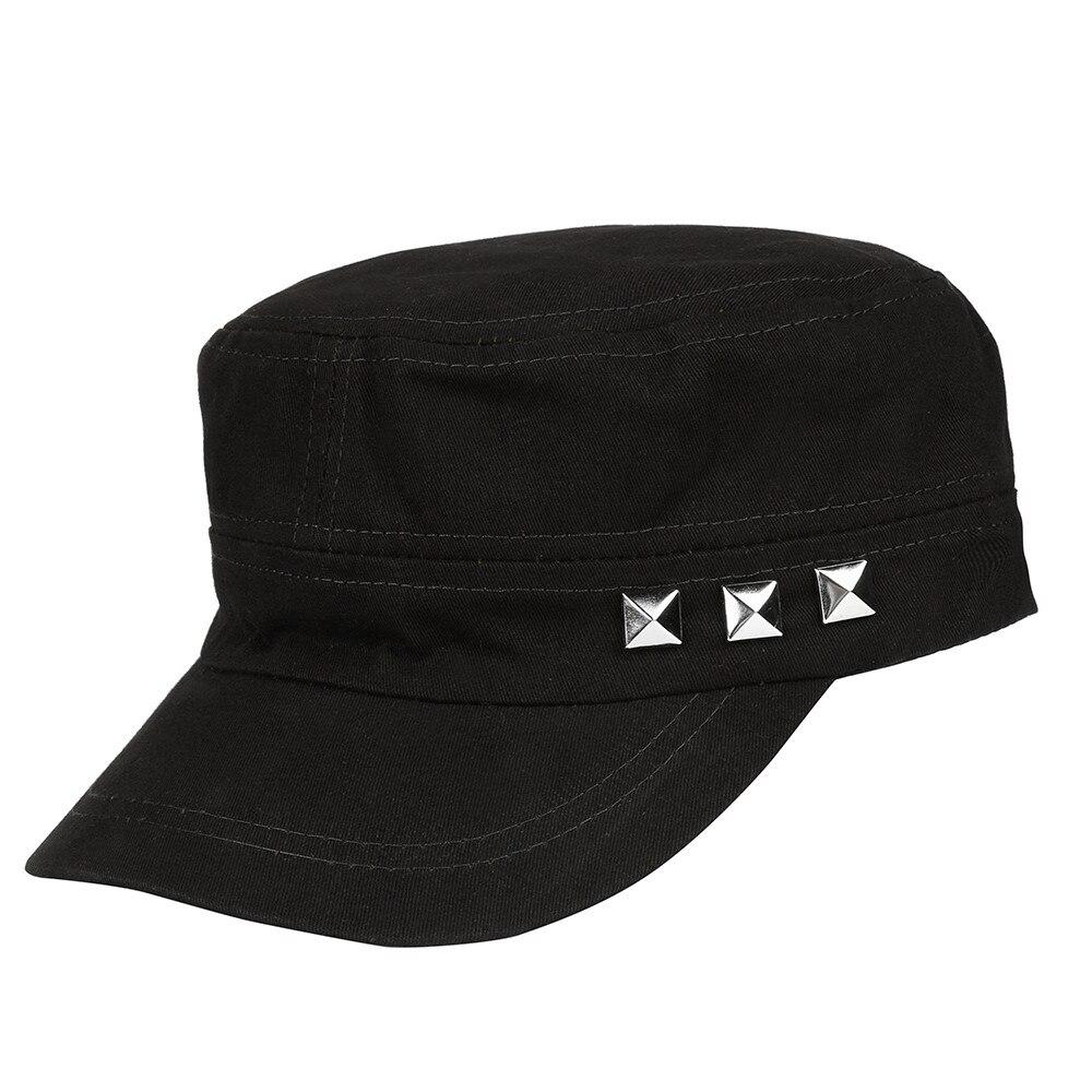 KLV Fashion   Baseball     Cap   Unisex Adult Classic Plain Vintage Army Cadet Style Cotton   Cap   Hat Adjustable For 2018