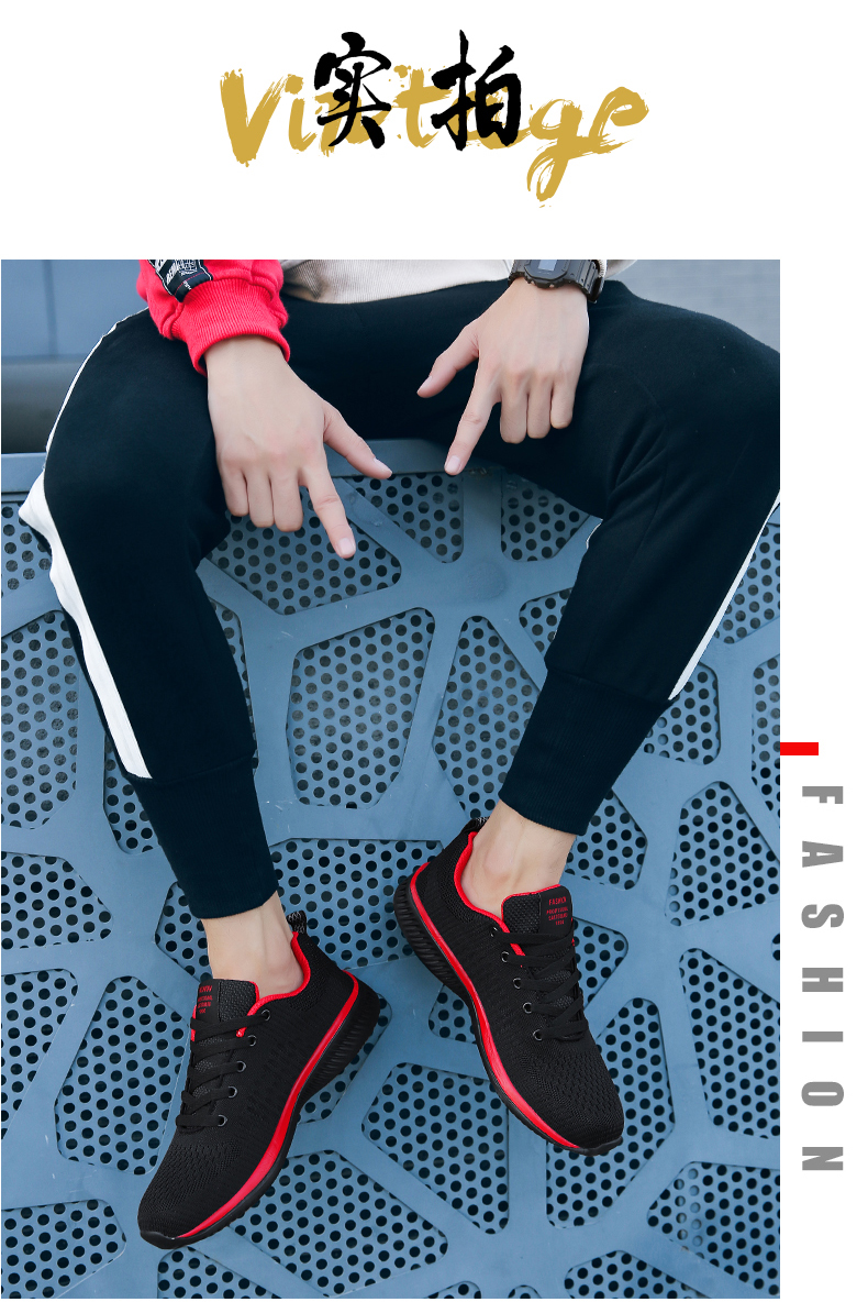HTB1vTM2aUrrK1RkSne1q6ArVVXaD 2019 Fashion Men Casual Shoes Lac up Men Mesh Shoes Lightweight Comfortable Breathable Walking Sneakers Tenis Feminino Zapatos