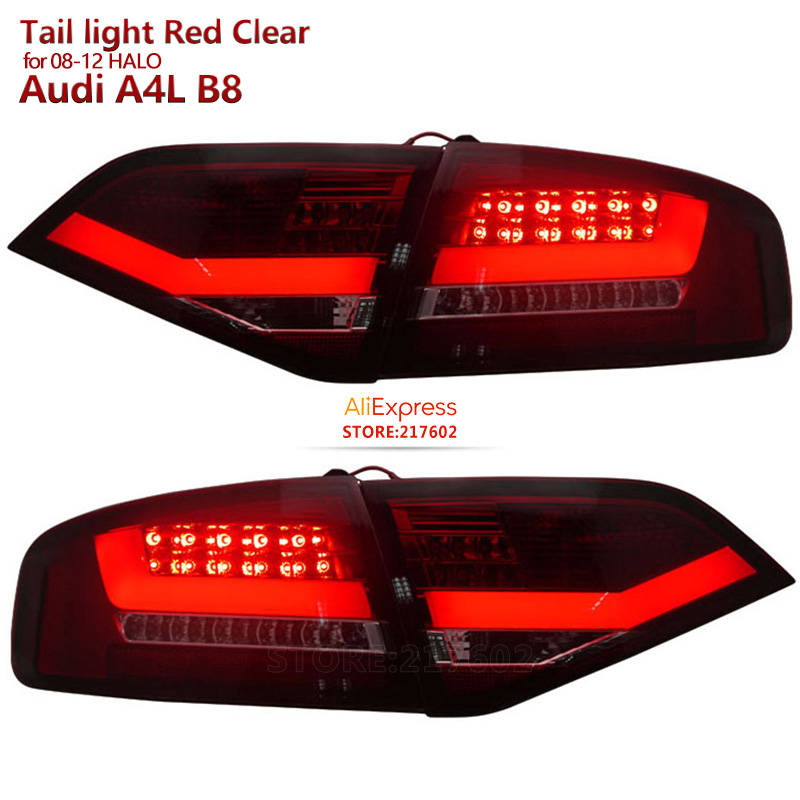 Top Quality For Audi A4 A4L A4L B8 LED Tail Lights 2008 To